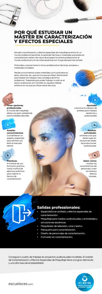 master en maquillaje profesional